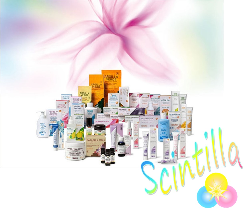 Scintilla, Medicina Naturale, prodotti cosmetici naturali, Argital, argilla, argilla ventilata, shop online, Gordola, Locarno, Bellinzona, Ticino